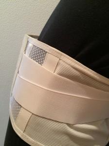 従来の腰痛ベルト3